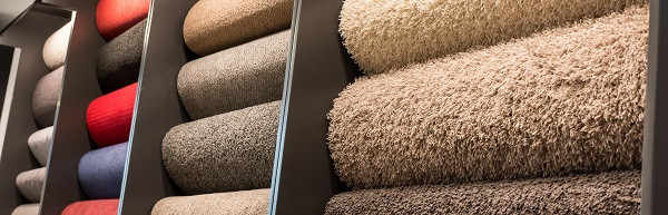 Wide carpet selection